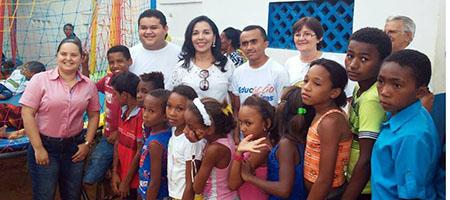 Comunidade Canto Fazenda Frade recebe ação solidária em Oeiras capa
