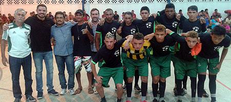Time Tapera Boa Nova vence I Copa de Futsal da região do Contentamento em Oeiras capa