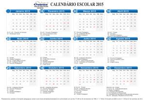 Clique no calendário para ver em alta resolução.