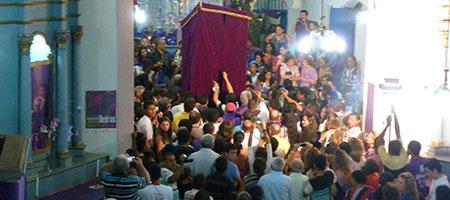 Oeiras dá início às cerimonias litúrgicas da Semana Santa capa