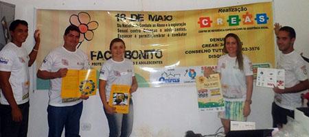 Oeiras realiza ação contra violência infanto-juvenil capa
