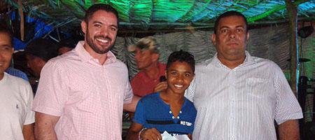 Povoado Boa Nova em Oeiras recebe serviços e visita do prefeito capa