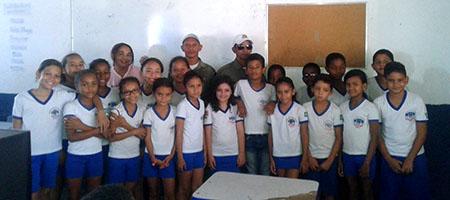 Escolas municipais recebem ação de educação para o trânsito em Oeiras capa
